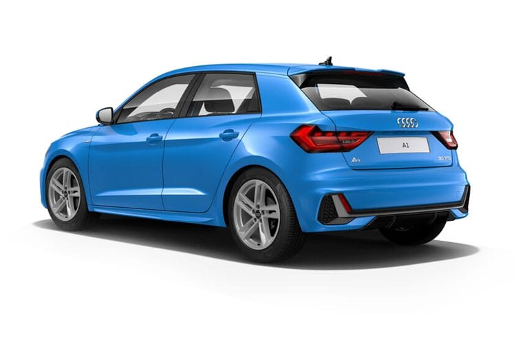 Audi A1 30 Sportback 5Dr 1.0 TFSI 110PS S line 5Dr Manual [Start Stop] [Technology] back view