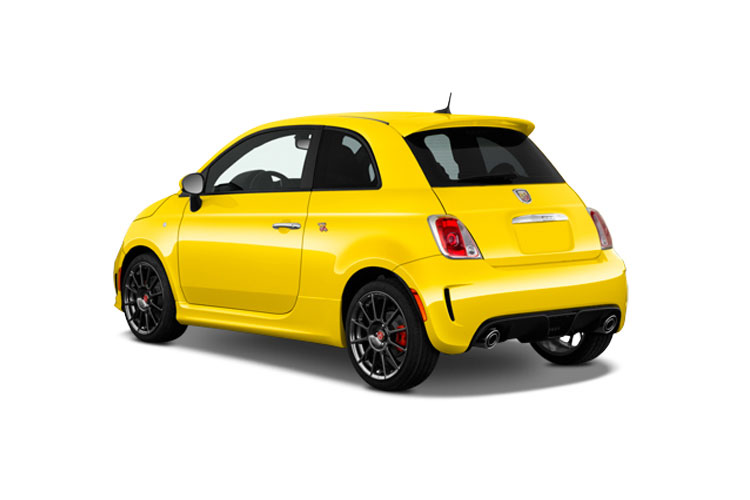 Abarth 595 Hatch 3Dr 1.4 T-Jet 165PS Monster Yamaha 3Dr Manual back view