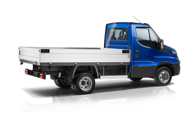 Iveco Daily 35C 3000 DRW 2.3 D HPI 12V DRW 116PS  Dropside Double Cab HiMatic [Start Stop] back view
