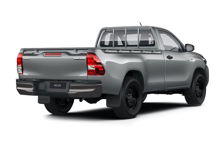 Toyota Hilux PickUp Double Cab 4wd 2.4 D-4D 4WD 150PS Icon Pickup Double Cab Auto [Start Stop] back view