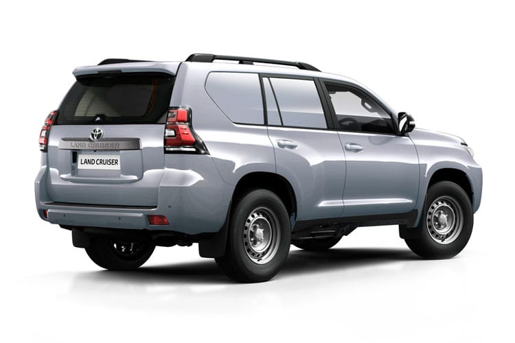 Toyota LandCruiser LCV SWB 4wd 2.8 D 4WD 177PS Active Van Auto [2Seat Navi] back view