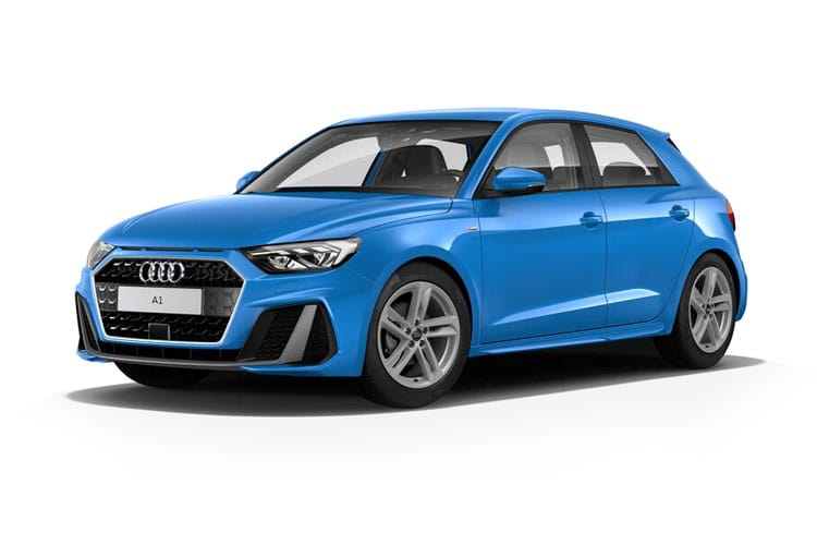 Audi A1 30 Sportback 5Dr 1.0 TFSI 110PS S line 5Dr Manual [Start Stop] [Technology] front view