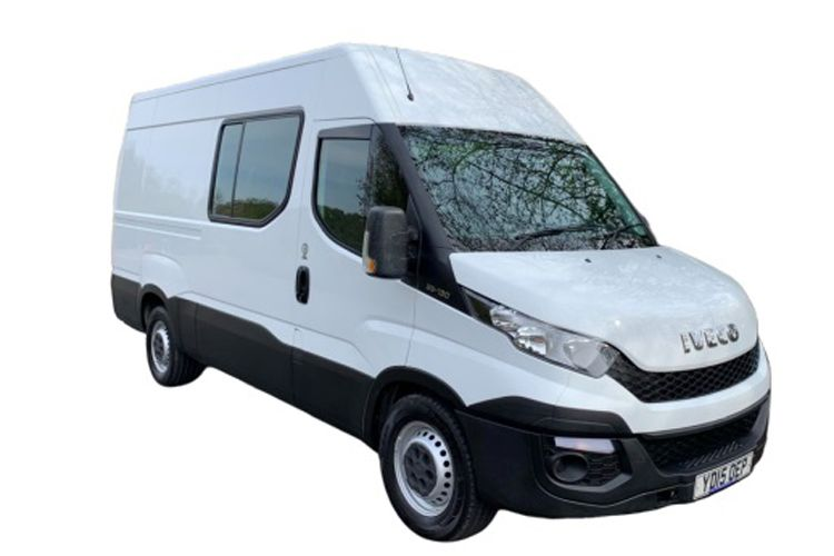 Iveco Daily 35C 4100L DRW 3.0 CNG 14V DRW 136PS  Crew Van High Roof Manual front view