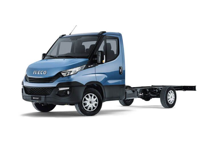 Iveco Daily HGV 50C 3750 DRW 2.3 D HPI 16V DRW 156PS Business Chassis Cab HiMatic front view
