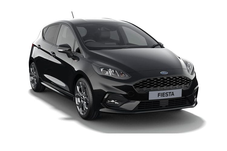 Ford Fiesta Hatch 5Dr 1.0 T EcoBoost MHEV 155PS ST-Line Edition 5Dr Manual [Start Stop] front view