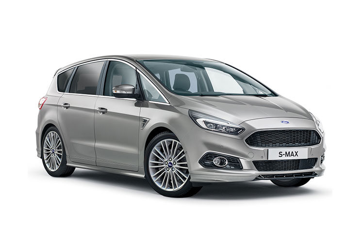 Ford S-MAX MPV 2.0 EcoBlue 150PS Titanium 5Dr Auto [Start Stop] [Lux] front view