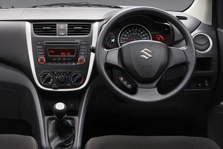 Suzuki Celerio Hatch 5Dr 1.0 Dualjet 68PS SZ2 5Dr Manual [Start Stop] inside view