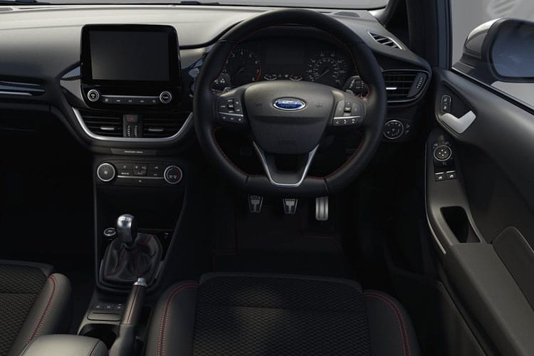 Ford Fiesta Hatch 5Dr 1.0 T EcoBoost MHEV 155PS ST-Line Edition 5Dr Manual [Start Stop] inside view