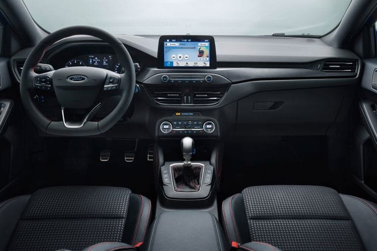 Ford Focus Hatch 5Dr 1.5 EcoBlue 120PS Zetec Edition 5Dr Auto [Start Stop] inside view